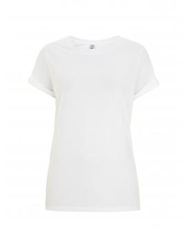 "T-Shirt damski ""Rolled-UP"" marka EARTHPOSITIVE 4"