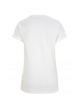 "T-Shirt damski ""Rolled-UP"" marka EARTHPOSITIVE 5"