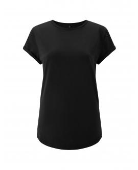 "T-shirt damski ""Rolled Up"" marka EARTHPOSITIVE 8"