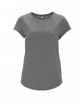 "T-shirt damski ""Rolled Up"" marka EARTHPOSITIVE 18"