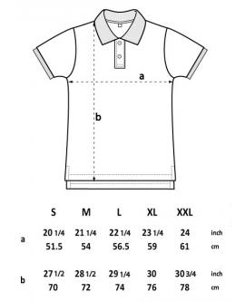 Koszulka męska Polo marka EARTHPOSITIVE 9