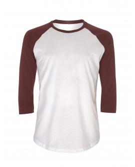 T-Shirt Unisex Baseball marka EARTHPOSITIVE 4