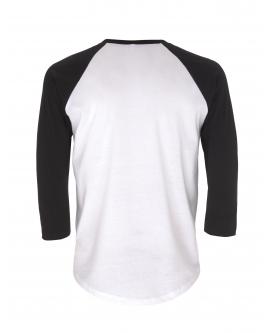 T-Shirt Unisex Baseball marka EARTHPOSITIVE 5