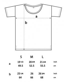 Koszulka damska OVERSIZED marka EARTHPOSITIVE 12
