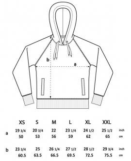 Bluza Unisex z kapturem marka EARTHPOSITIVE 13