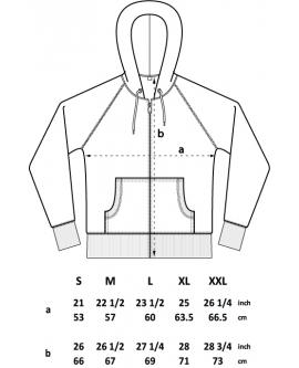 Bluza z kapturem Unisex marka Continental 6