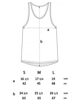 Koszulka damska Classic Vest marka EARTHPOSITIVE 10