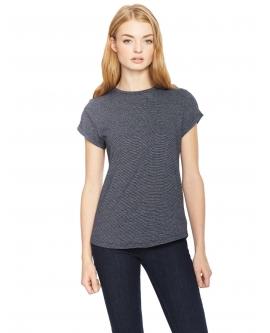 "T-shirt damski ""Rolled Up"" marka EARTHPOSITIVE 4"