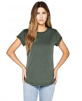 "T-shirt damski ""Rolled Up"""